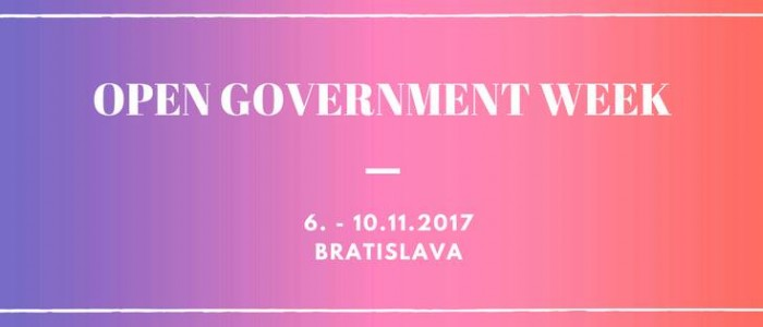 Open Gov Week 2017