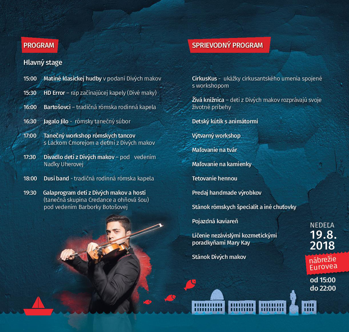 Program Cigánsky bašavel 2018